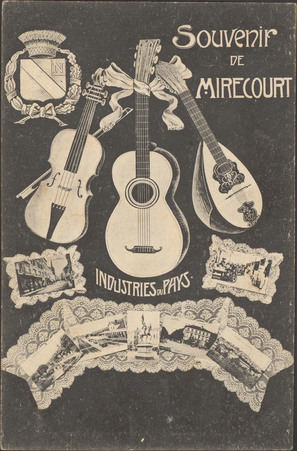 Souvenir de Mirecourt, Industries du pays
