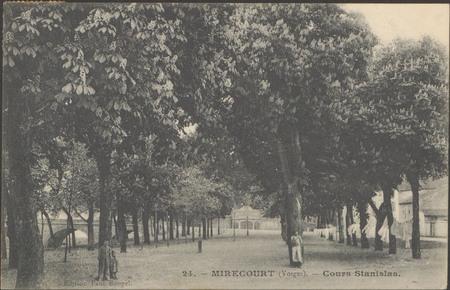 Mirecourt (Vosges), Cours Stanislas