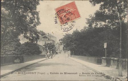 Mirecourt (Vosges), Entrée de Mirecourt, Route de Châtel
