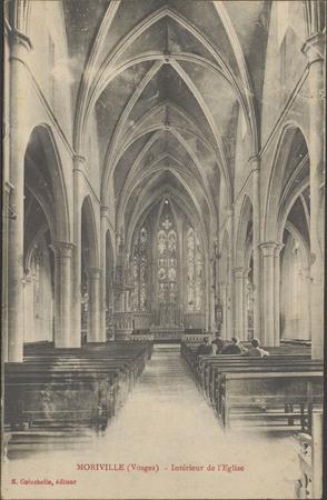 Moriville (Vosges), Intérieur de l'Église