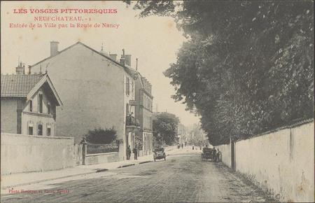 NeufChâteau, Entrée de la Ville par la route de Nancy