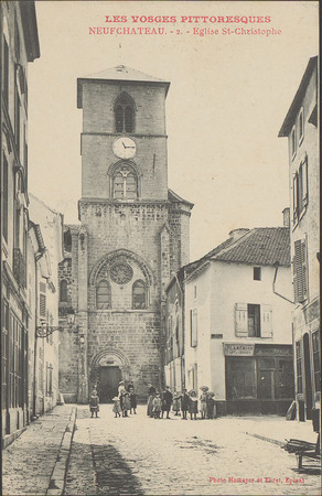 NeufChâteau, Église St-Christophe