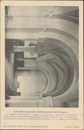 NeufChâteau, Église St-NiColas, Chapelle souterraine […]