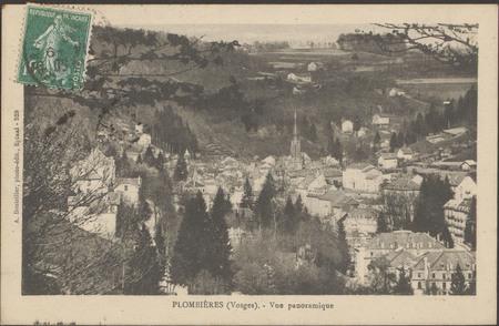 Plombières (Vosges), Vue panoramique