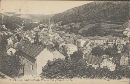 Plombières-les-Bains, Vue générale