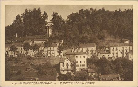 Plombières-les-Bains, Le Côteau de la Vierge