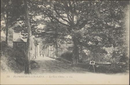 Plombières-les-Bains, Le Gros Chêne