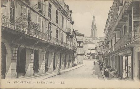 Plombières-les-Bains, La Rue Stanislas