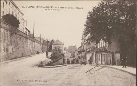 Plombières-les-Bains, Avenue Louis Français et du Val d'Ajol