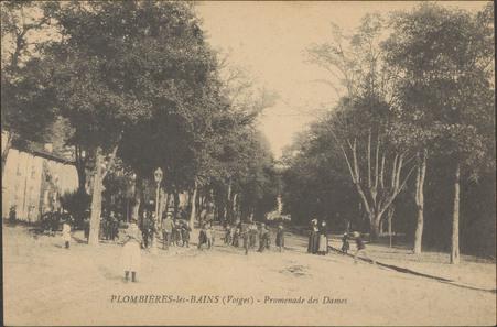 Plombières-les-Bains (Vosges), Promenade des Dames
