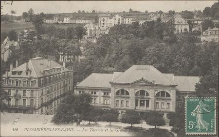Plombières-les-Bains, Les Termes et les grands hôtels