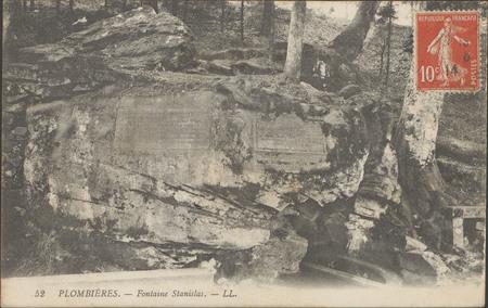 Plombières, Fontaine Stanislas