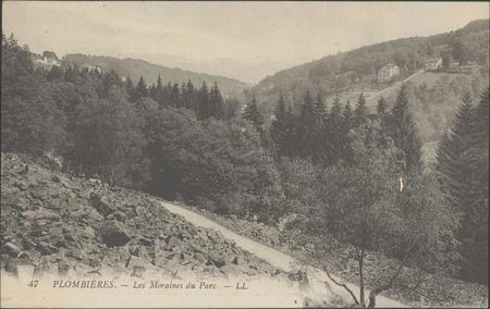 Plombières, Les Moraines du Parc