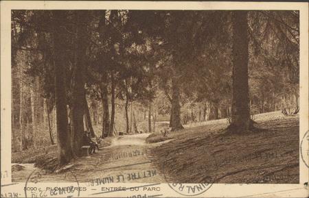 Plombières, Entrée du parc