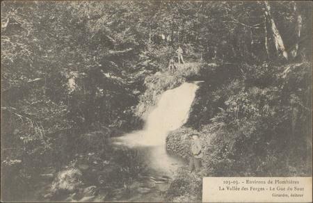 Environs de Plombières, La Vallée des Forges, Le Gué du Saut