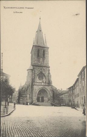 Rambervillers (Vosges), L'Église
