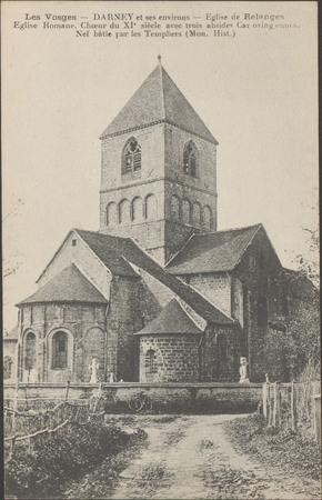 Darney et ses environs, Église de Relanges […]