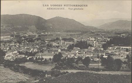 Remiremont, Vue générale