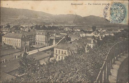 Remiremont, Vue générale prise du [Parmont]