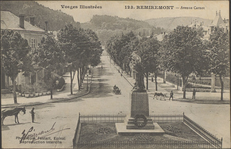 Remiremont, Avenue Carnot