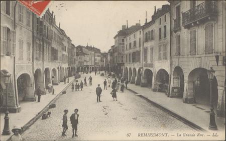 Remiremont, La Grande rue