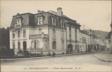 Remiremont, Place Maxonrupt