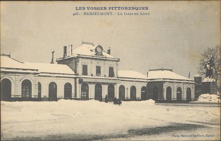 Remiremont, La Gare en hiver