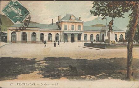 Remiremont, La Gare