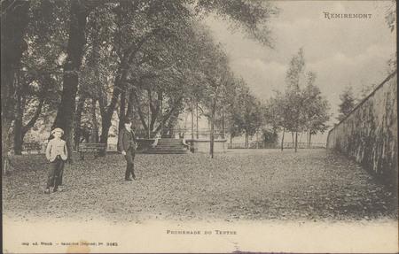 Remiremont, promenade du Tertre