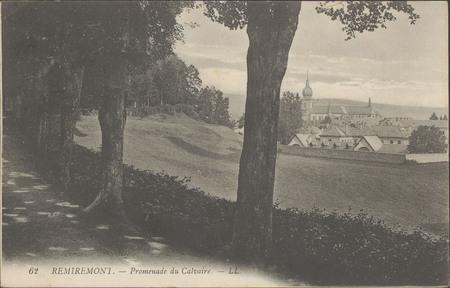 Remiremont, La Promenade du Calvaire