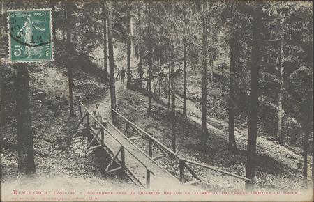 Remiremont (Vosges), Promenade près du quartier Renaud en allant au belvéd…