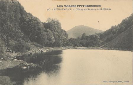 Remiremont, L'Etang de Xennoy à St-Etienne