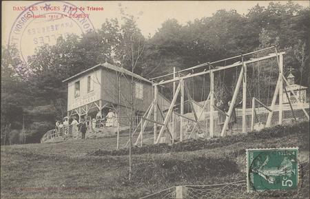 Dans les Vosges, Vue du Trianon, Création 1910, Ate Démésy