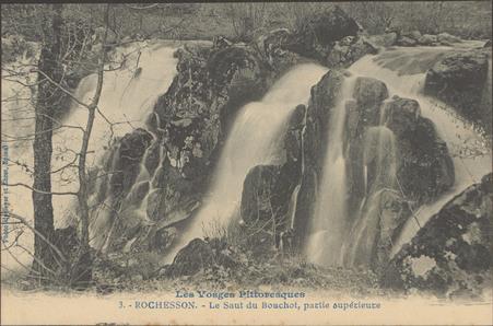 Rochesson, Le Saut du Bouchot, partie supérieure