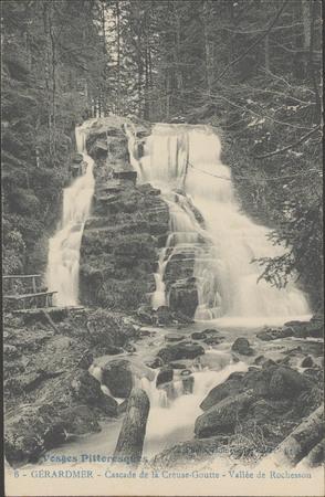 Gérardmer, Cascade de la Creuse-Goutte, Vallée de Rochesson