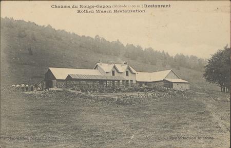 Chaume du Rouge-Gazon (Altitude 1100 m), Restaurant Rothen Wasen Restaurat…