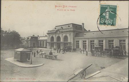 Saint-Dié (Vosges), Place de la gare