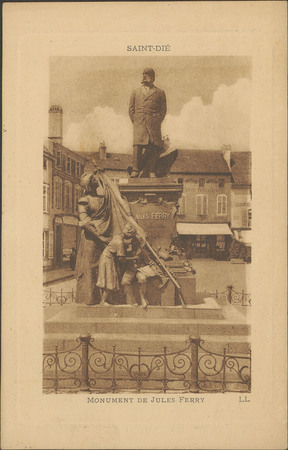 Saint-Dié, Monument de Jules Ferry