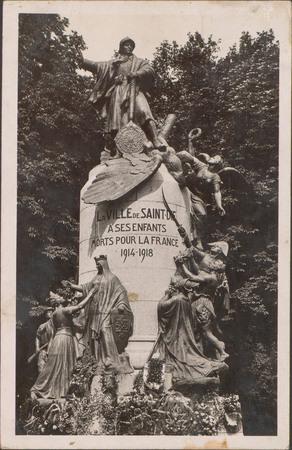 La Ville de Saint-Dié à ses enfants morts pour la France 1914-1918