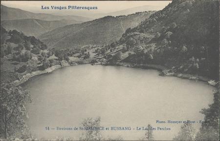 Environs de St-Maurice et Bussang, Le Lac des Perches