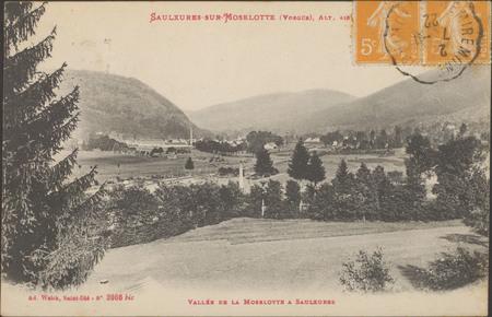 Saulxures-sur-Moselotte (Vosges), Vallée de la Moselotte à Saulxures […]