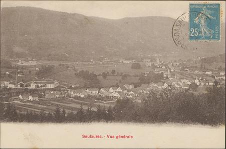 Saulxures, Vue générale