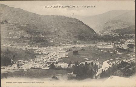 Saulxures-sur-Moselotte, Vue générale
