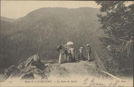 Route de la Schlucht, La Roche du Diable