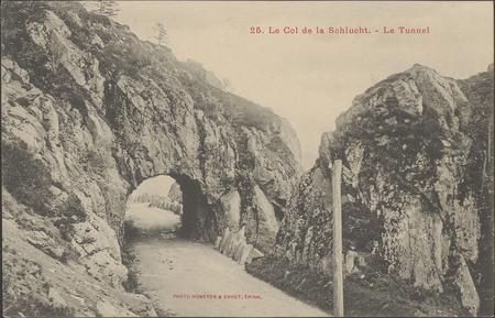 Le Col de la Schlucht, Le Tunnel