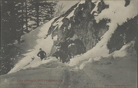 Gérardmer, La Roche du Diable en hiver