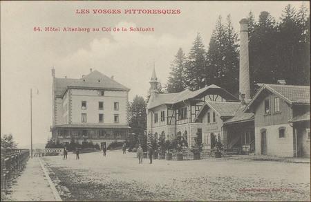 Hôtel Altenberg au Col de la Schlucht