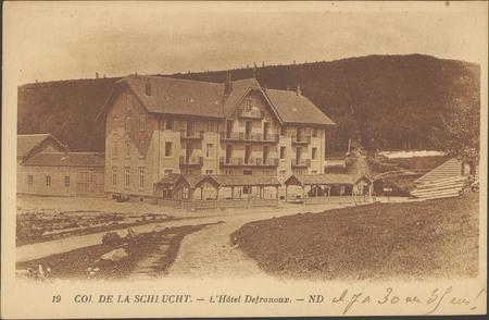 Col de La Schlucht, L'Hôtel Defranoux