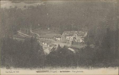 Gérardmer (Vosges), La Schlucht, Vue générale