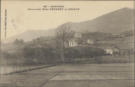 Senones, Pensionnat Mlles Fennery et Grangé